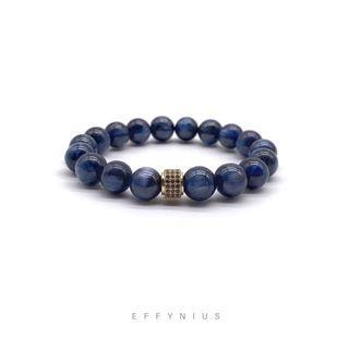 The Classic | Blue Kyanite 藍晶石 | Premium Natural Gemstone Bracelet
