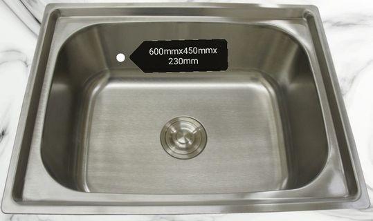 L Size Single Bowl Kitchen Sink