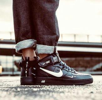 Sepatu Nike Air force Black