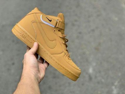 Sepatu Nike Air force Brown