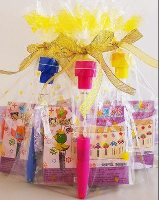 🚚 Goodie bag, goody bag, windchime, bubble stamp pen