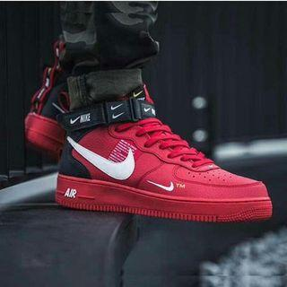 Sepatu Nike Air force Red