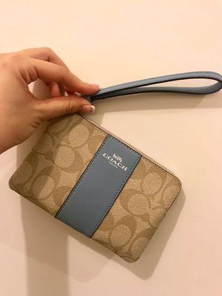 Coach Wallet wristlet coins bag