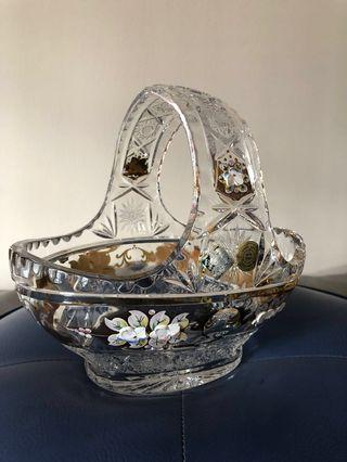 🚚 A vintage Bohemian crystal from the early 20th century