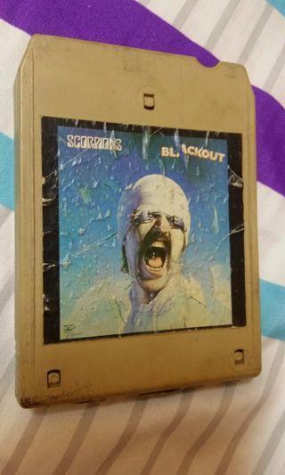 Cartridge 8 track katrij Scorpion Blackout
