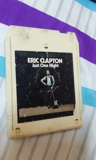 Cartridge 8 track katrij Eric Clapton