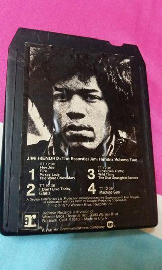 Cartridge 8 track katrij Jimi Hendrix