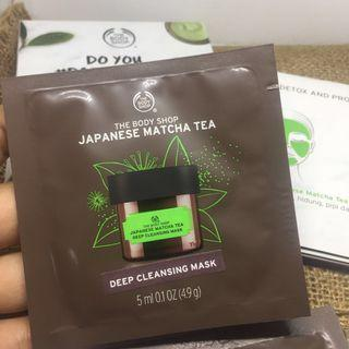 The Body Shop Japanese Matcha Tea