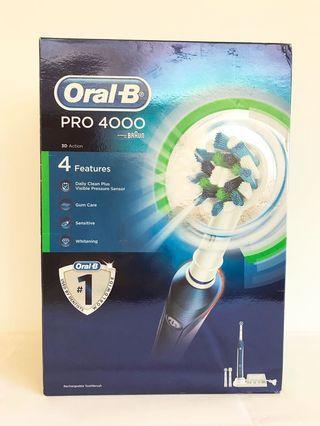 { 開❤️價}Oral-B PRO 4000 電動牙刷
