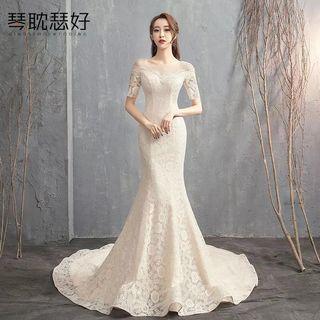 🚚 Wedding Gown 蕾絲婚紗