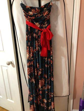 Lovely Mango maxi dress size small