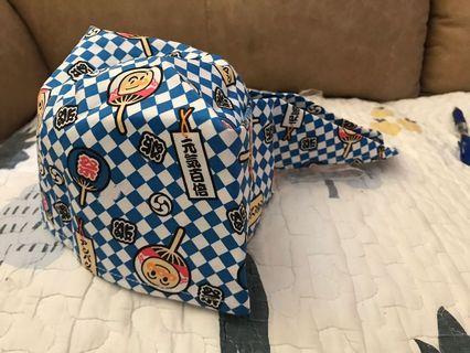 正品出口日本麵包超人日本祭典帽size46cm特價$55(包平郵)