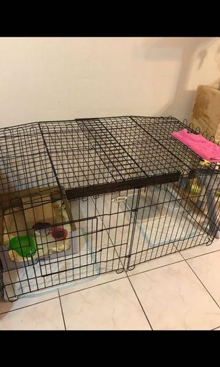 自製寵物籠(天窗活動式全開、半開)