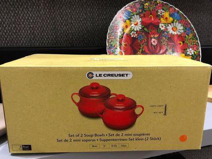 LE CREUSET Set of 2 Soup Bowl 經典色湯壺孖裝
