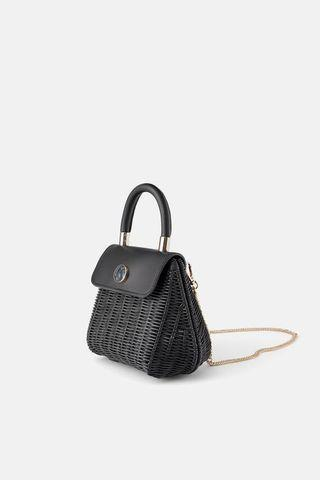 Zara basket purse