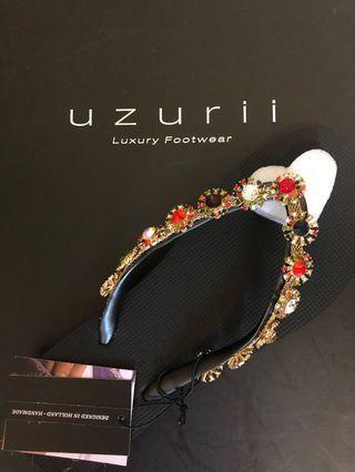 UZURII Luxury Handmade Slippers 名牌拖鞋
