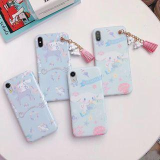 🚚 brand new cinamoroll iphone xr case with charm (INSTOCK)