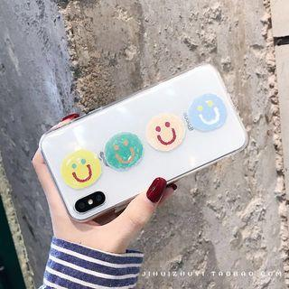 🚚 brand new smiley face iphone xr case