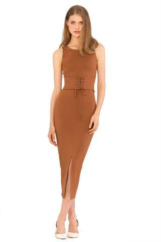 Doublewoot Dress Brown