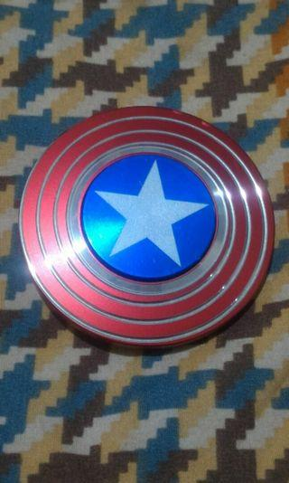 Captain America's Shield Fidget Spinner - MARVEL