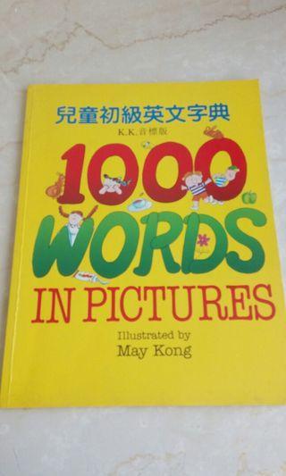 🚚 兒童初級英文書 / 字典