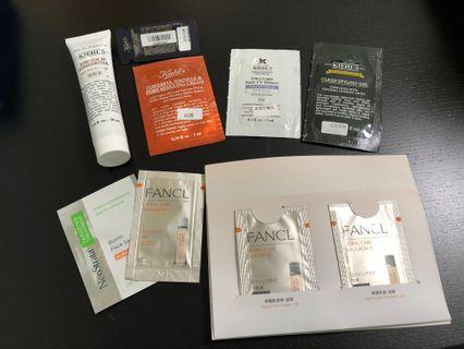 (包郵)Kiehl's Fancl NeoStrata samples 11pcs