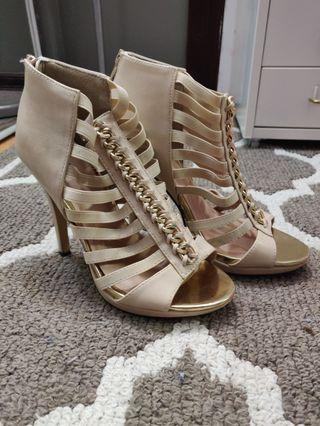 CALL IT SPRING Strappy Heel Pumps