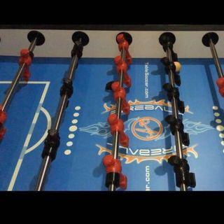 Mint condition Fireball Foosball Table
