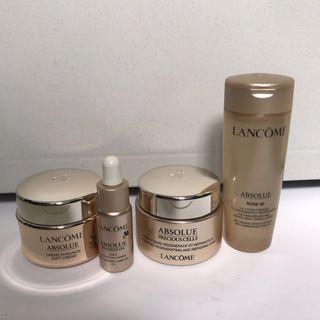 Lancôme absolute skincare set