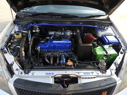 Air intake setup for Mitsubishi Lancer CS3 And Other Cars
