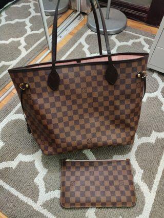 Rep Neverfull MM Rose BallerineTote Bag