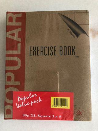 XL Square Exercise Book (New)