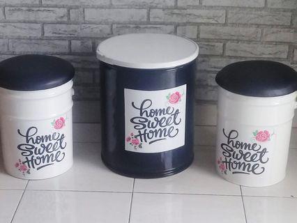 Kursi Tong Lucu Home Sweet Home