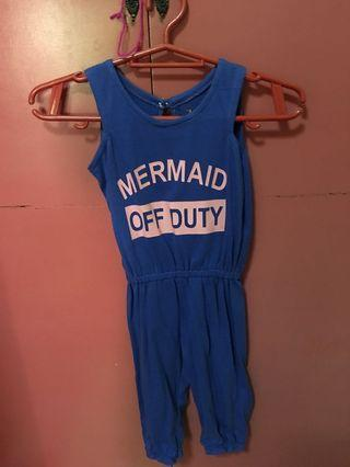 Mermaid jumpsuit