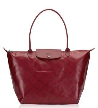 Longchamp LM metal in red