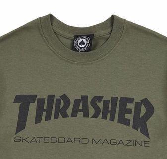 🚚 Thrasher 軍綠 M