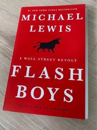 🚚 Flash Boys by Michael Lewis