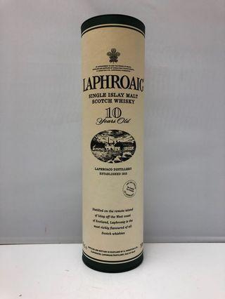 Laphroaig 10 years Scotch Whisky 吉盒一個