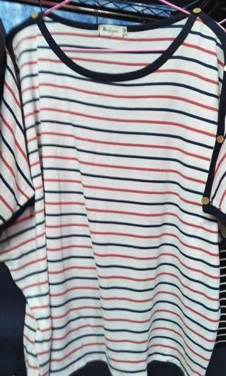 🚚 免郵↠大尺碼專賣店網購 (可穿到4L-6L,彈性、布料、店家評價也好的衣服,僅試穿尺吋買錯不合適)