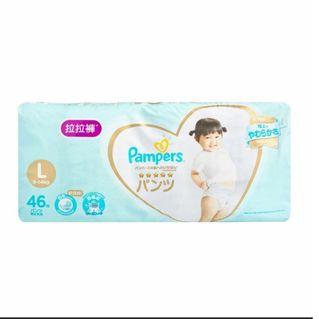 Pampers拉拉褲L碼