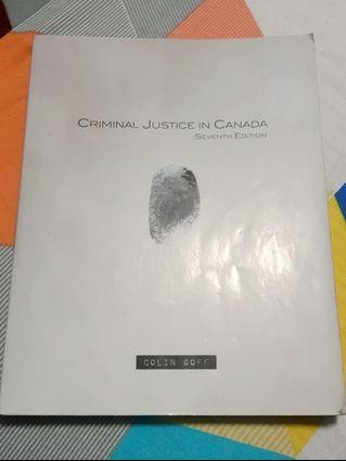 CRIMINAL JUSTICE IN CANADA ($50 OFF)