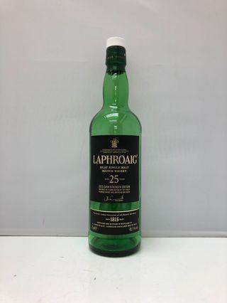 Laphroaig 25 years Scotch Whisky 吉樽一個