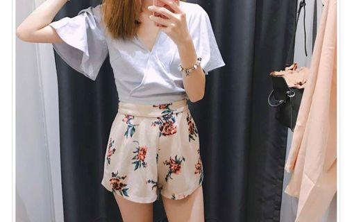 TCL Lyana Floral Printed Shorts