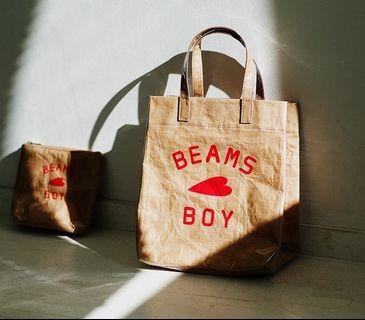 [BN] Inspired BEAMS paper handbag