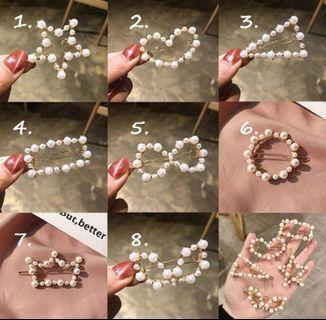 Jepitan kekinian korea pearl