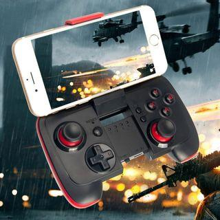 (BNIB) IREALIST Wireless Bluetooth Controller with Clip & Shock Vibration Feedback for Android, iPhone, iPad, Tablet PC, Gear VR Games, TV Box (Brand New Boxed)