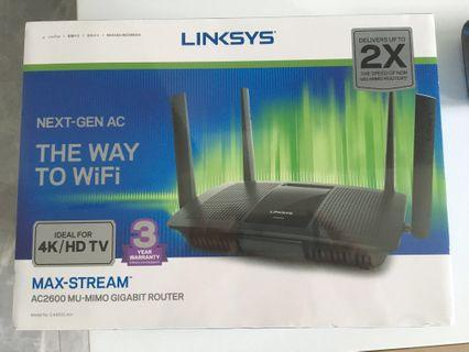 🚚 Linksys Wireless Router AC2600