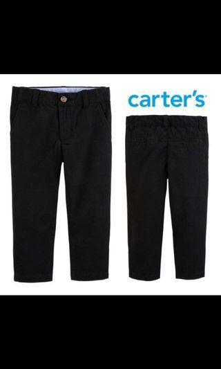Carter's chino pants black 10T