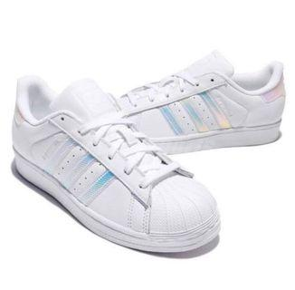 BN Iridescent Holographic Adidas Superstar