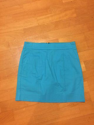 🚚 水藍窄裙 28吋腰